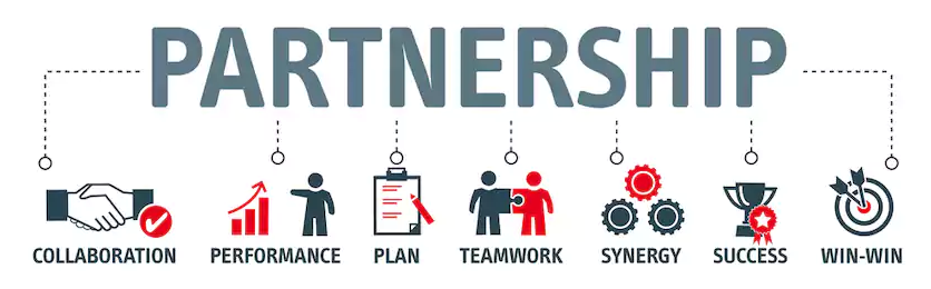 партнерство залог успеха